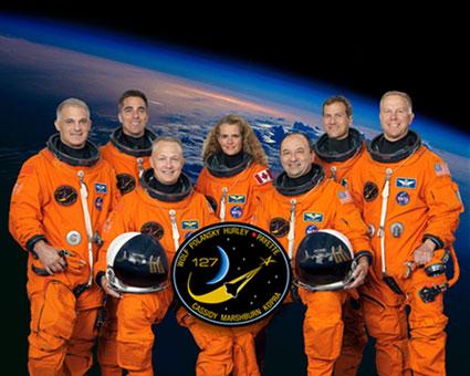 STS127-S-002: STS-127 crew portrait