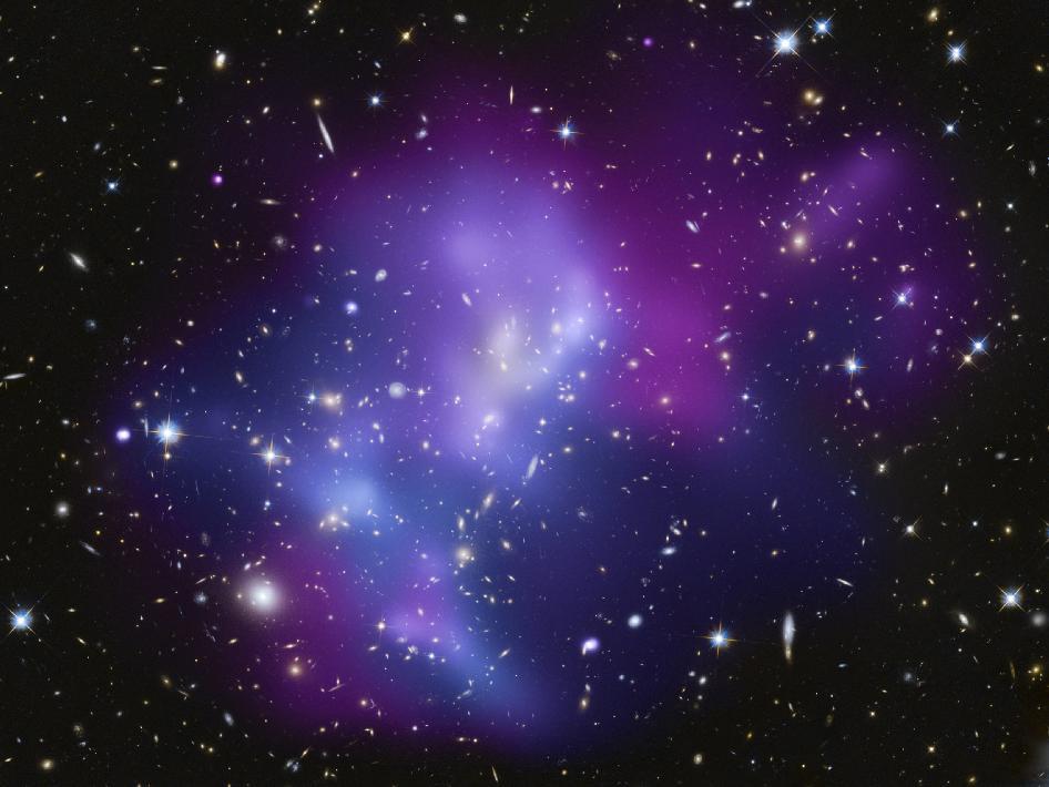 Астрономы увидели самую крупную космическую аварию