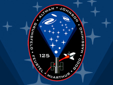 STS125-S-001 -- STS-125 mission patch