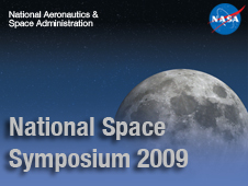 NASA at the 2009 National Space Symposium