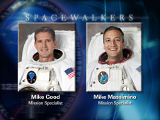 EVA 2 Spacewalkers