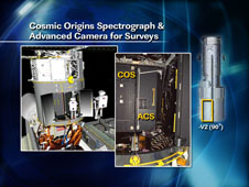 Cosmic Origins Spectrograph  & Advanced Camera for Surveys