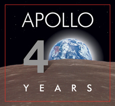 Apollo 40th Anniversary Logo.