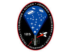 STS-125 mission logo