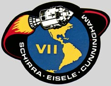 Apollo 7 mission patch