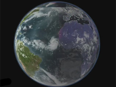EO visualization of Earth