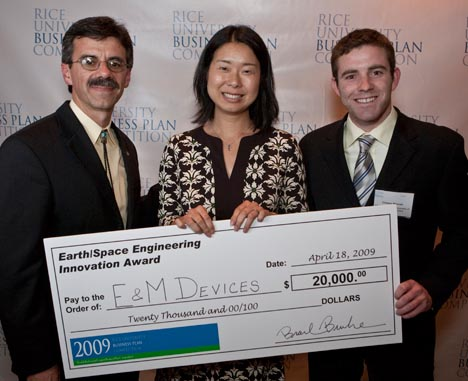 Rice business plan competition winners