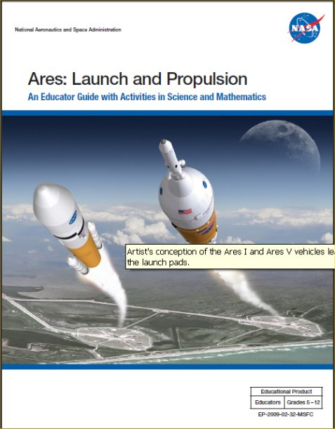 Ares Launch Propulsion Cover