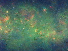 Spitzer's view of our Milky Way galaxy