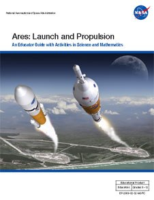 Cover of the Ares: Launch and Propulsion Educator Guide