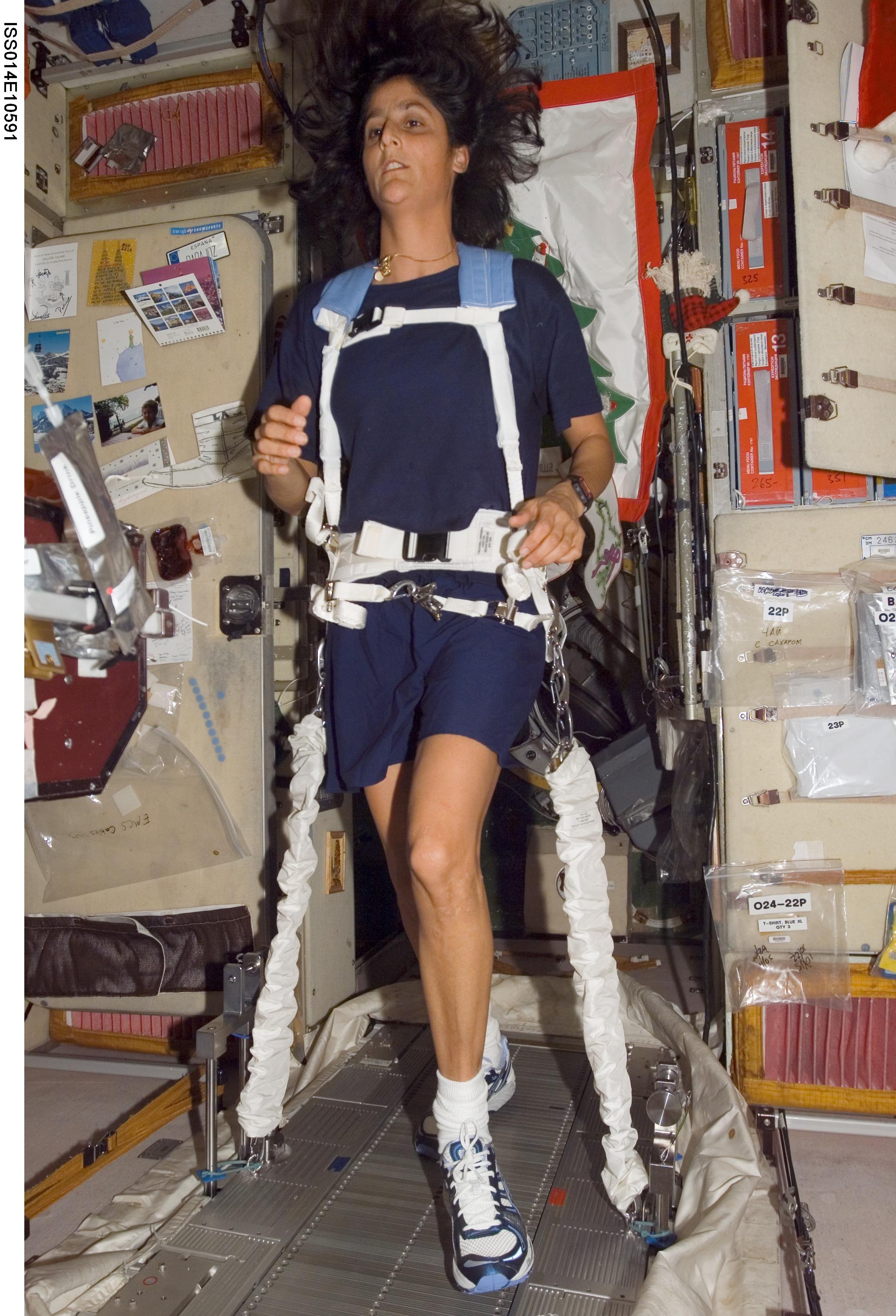 NASA - COLBERT Ready for Serious Exercise