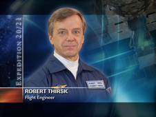 Robert Thirsk -- Flight Engineer