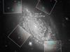 Hubble image of galaxy NGC 3021