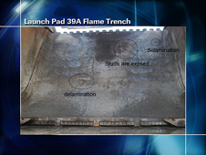 Launch Pad 39A Flame Trench