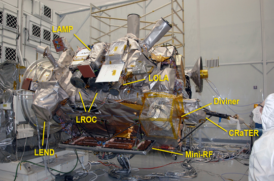 photo of LRO