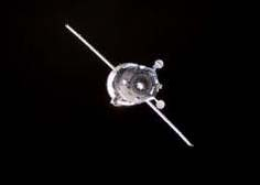 Russian Progress Resupply spaceship headed to the International Space Station.