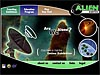 Splash screen of Alien Earths Web site