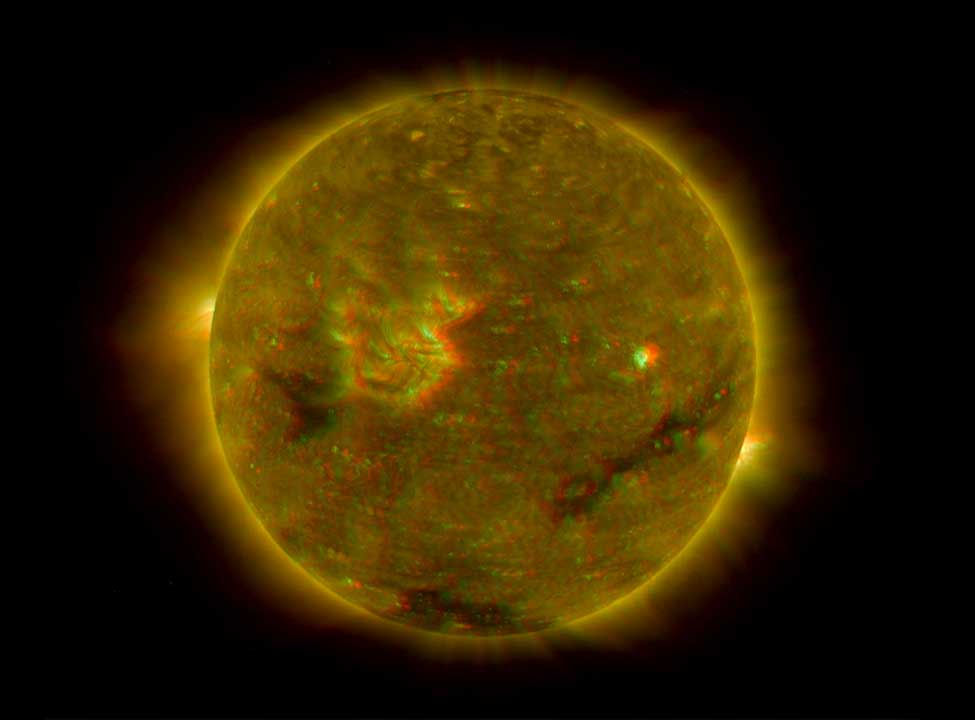 NASA - New Solar Cycle Prediction: Fewer Sunspots, But Not ...