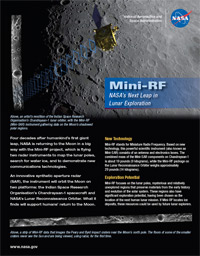 Mini-RF Fact Sheet