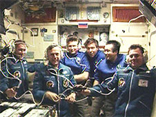 Expedition 20 welcome ceremony