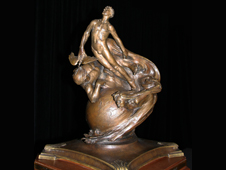 Image of the Collier Trophy.