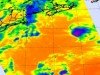 NASA's AIRS instrument captured TD#1's cold clouds