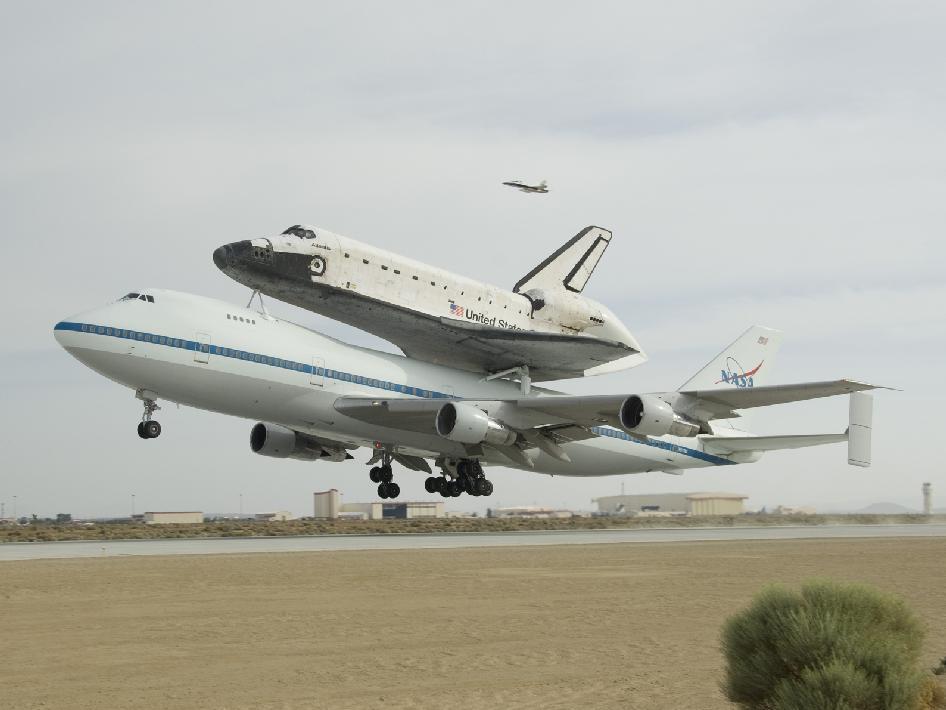 NASA - Ferry Flight Home
