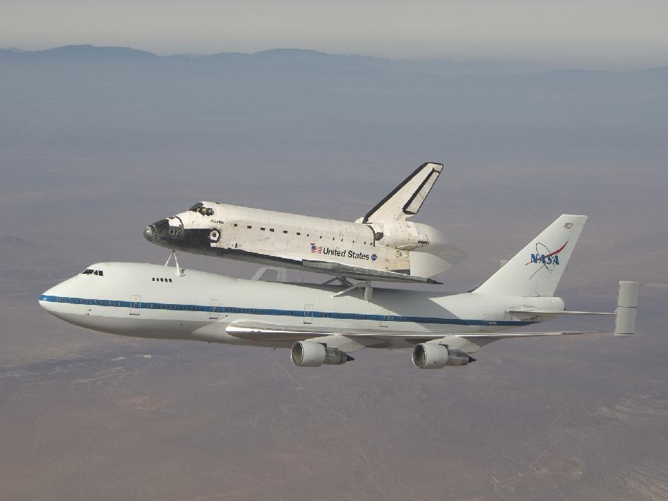 NASA - Piggy-Back Flight