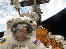 S125-E-009232 -- STS-125 Mission Specialist Mike Massimino