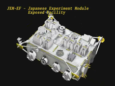 Japanese Experiment Module - Exposed Facility Overview