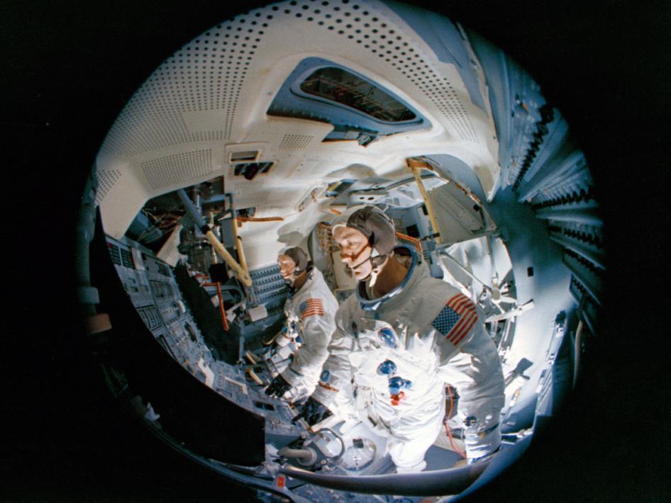 lunar module in space - photo #34