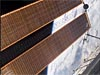 A space station solar array wing