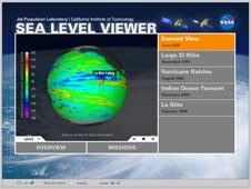 NASA JPL's Sea Level Viewer Flash Animation page.