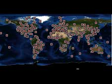 Aeronet locations across the world