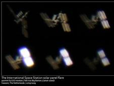 Space station solar arrays