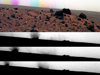 The panoramic camera (Pancam) on NASA's Mars Exploration Rover Spirit was taking exposures with different color filters during the 1,919th Martian day.