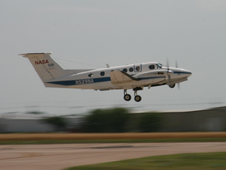 NASA Langley's B200 plane outfitted with two instruments takes flight in Oklahoma in June to capture new data and more accurate measurements of aerosols, whose full impact on Earth's climate remains somewhat elusive.