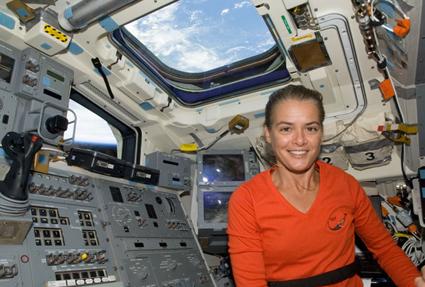 S127-E-011976 -- Astronaut Julie Payette