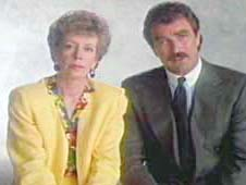 image of Carol Burnett and Tom Seleck