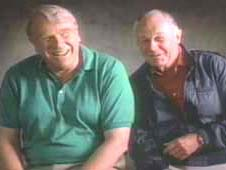 image of John Madden and Chuck Yeager