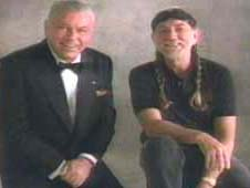 image of Frank Sinatra and Willie Nelson