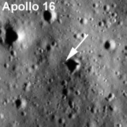 NASA - LRO Sees Apollo Landing Sites