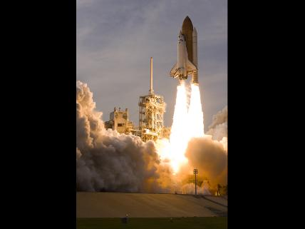 Endeavour Heads for Space