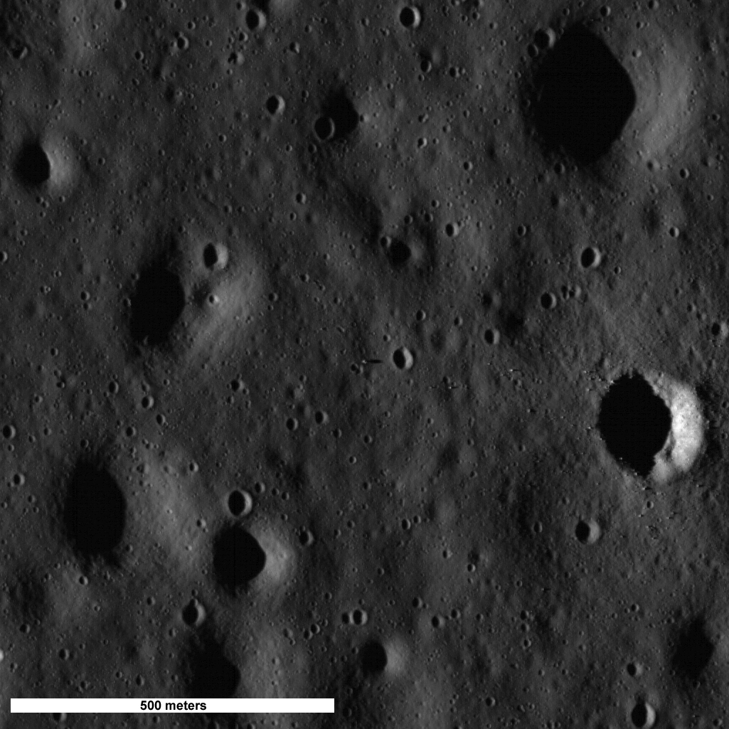Le satellite LRO a photographié les sites d'aterrissage des missions Apollo