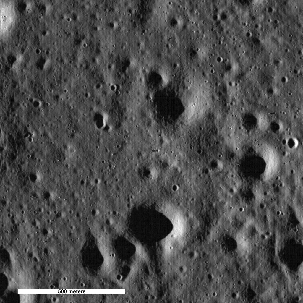фотографии луны место высадки некоторые