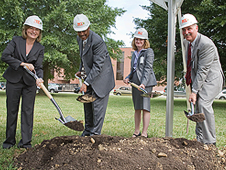 New Town groundbreaking.