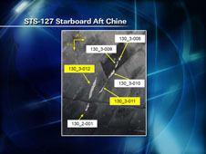 STS-127 Starboard  Aft Chine