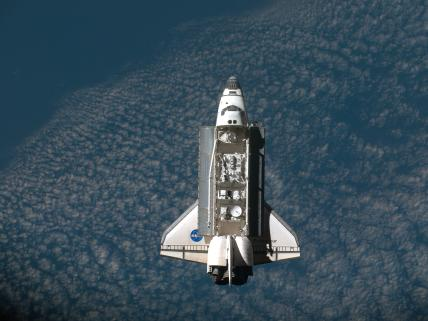 Endeavour Closes In