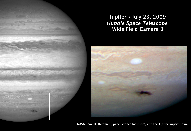 Image result for jupiter impact 2009 fletcher