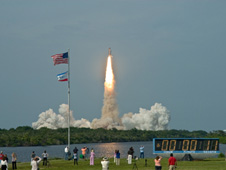 Launch of Endeavour on the STS-127 mission
